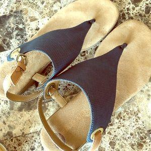 Blue Navy Sandals
